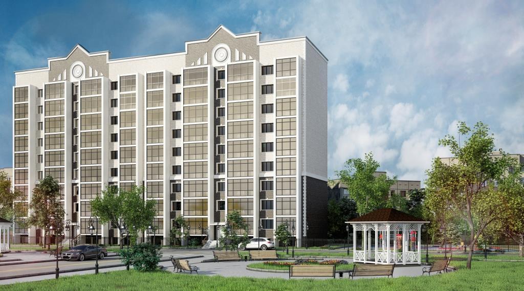 9 этажный жилой дом ул. Киевская г. Костанай пример 5