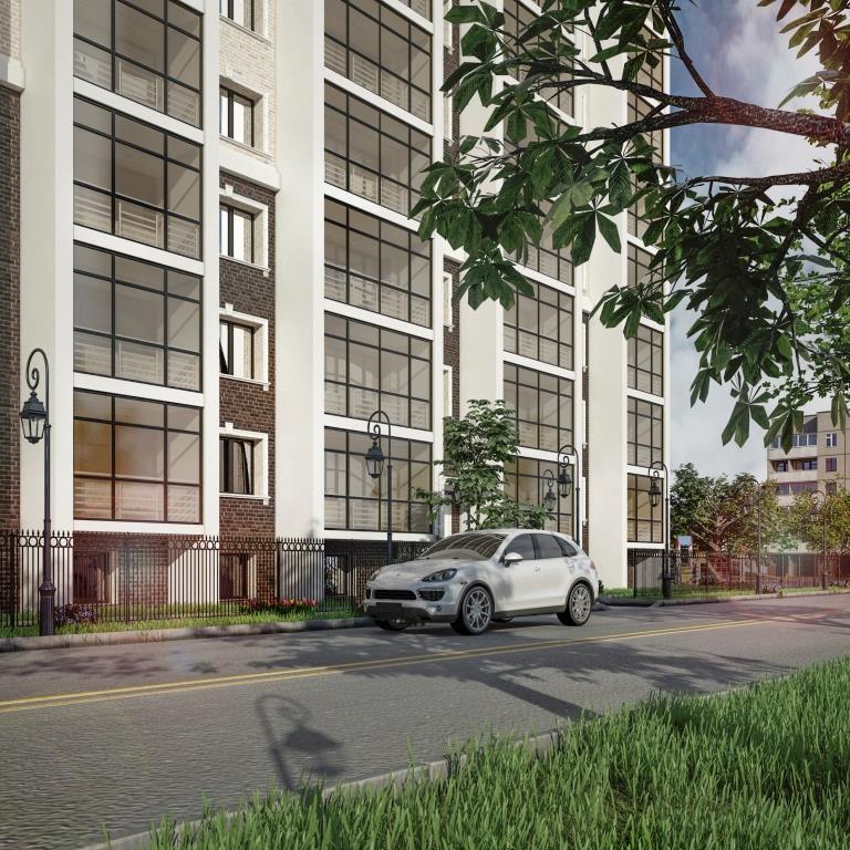 9 этажный жилой дом ул. Киевская г. Костанай пример 4