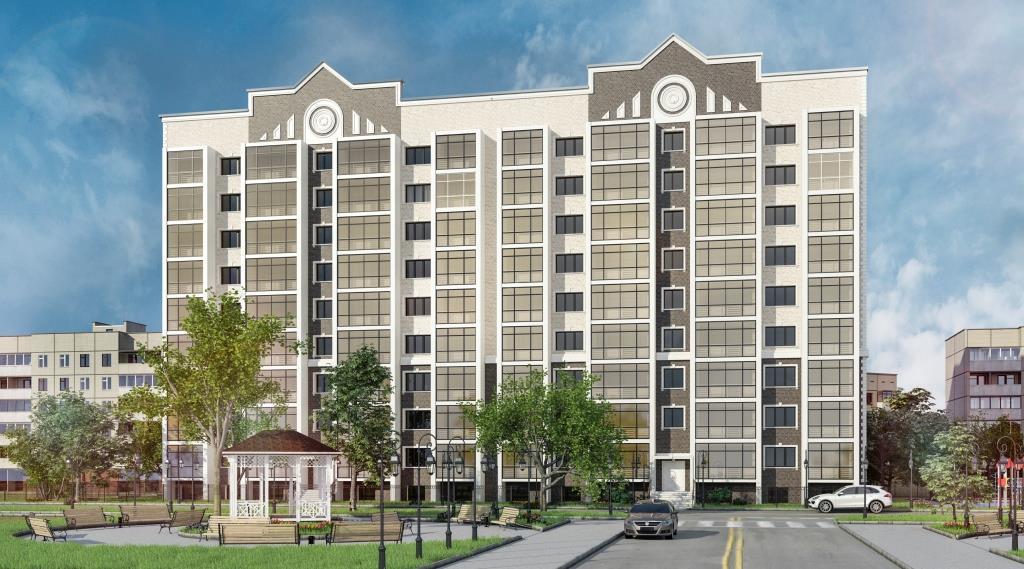 9 этажный жилой дом ул. Киевская г. Костанай пример 3