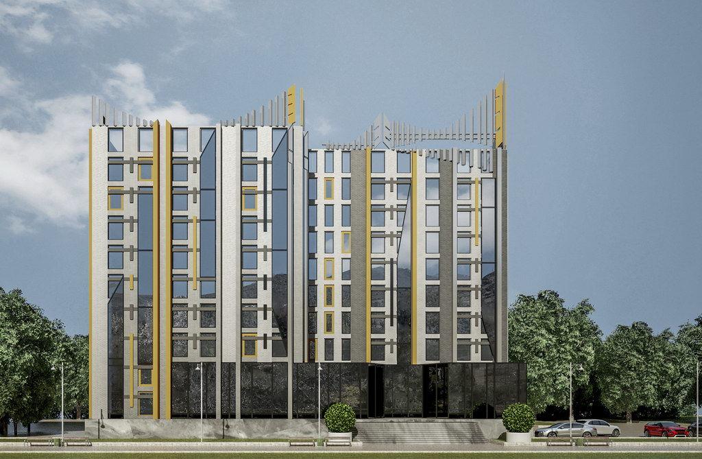 Реконструкция офисного здания Тарана изображение 1