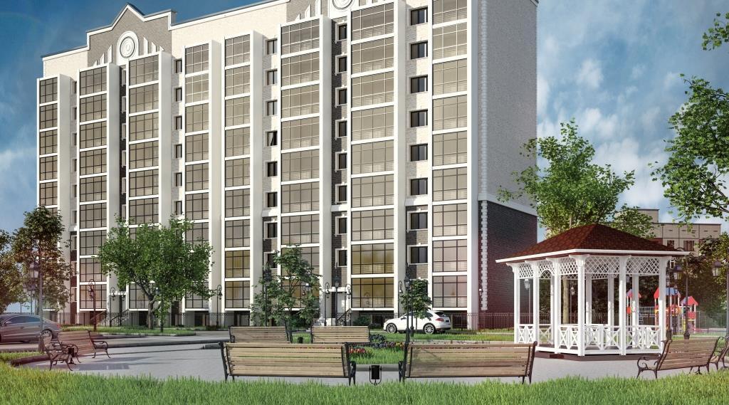9 этажный жилой дом ул. Киевская г. Костанай пример 2