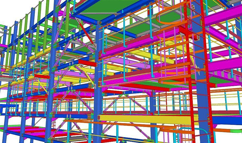 Промышленное здание пример 3